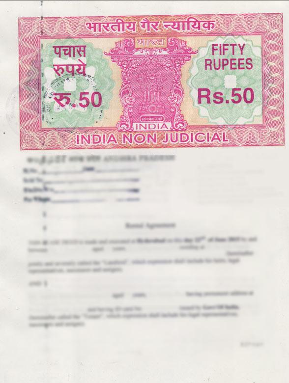 Non Judicial Stamp Paper Online In Hyderabad Notarykart